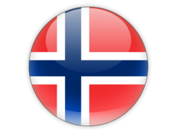 Round flag norway