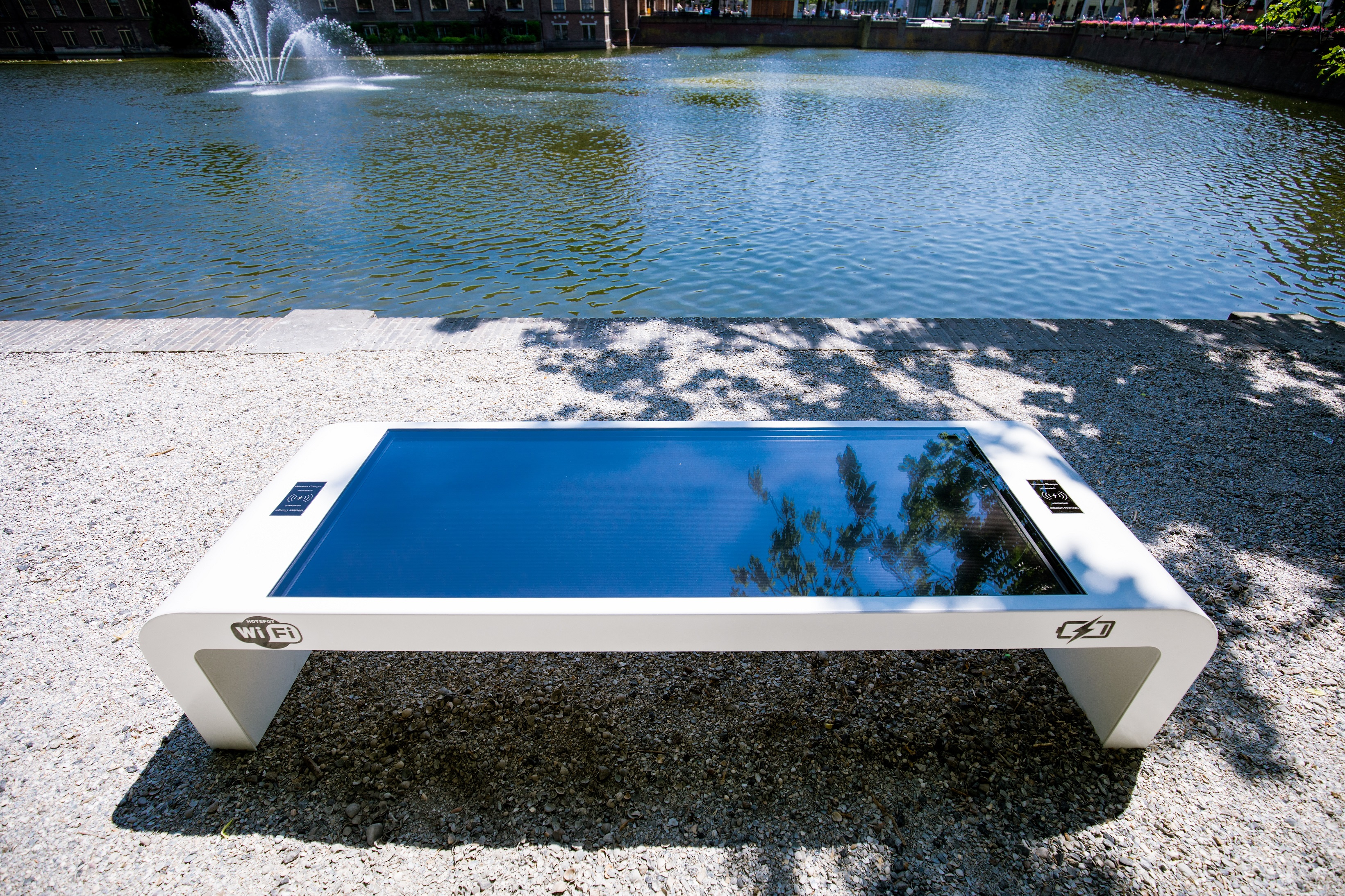 Solar Bench Top View